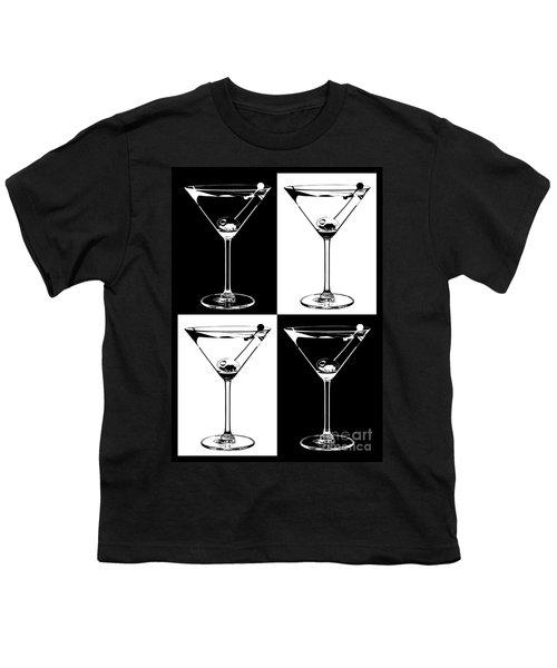 Classic Martini  Youth T-Shirt by Jon Neidert