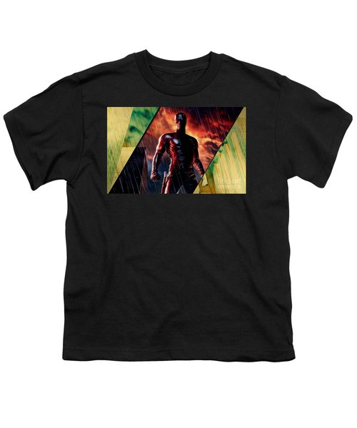 Daredevil Collection Youth T-Shirt by Marvin Blaine