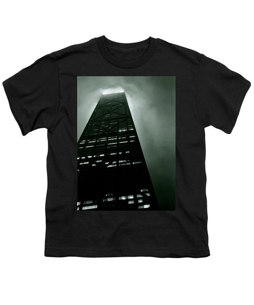 John Hancock Building - Chicago Illinois Youth T-Shirt by Michelle Calkins