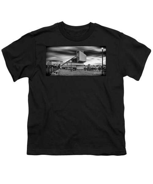 Rock And Roll Hall Of Fame  Youth T-Shirt by James Dean