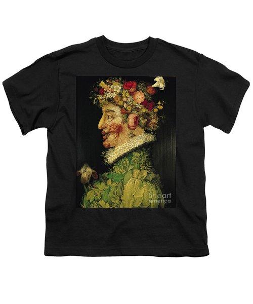 Spring Youth T-Shirt by Giuseppe Arcimboldo