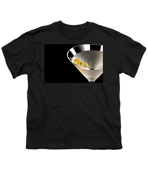 Vodka Martini Youth T-Shirt by Ulrich Schade
