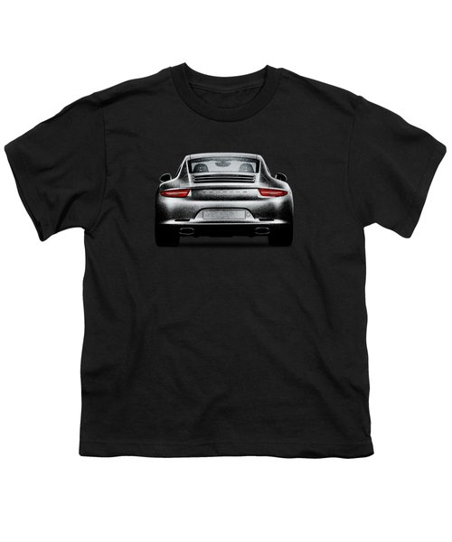 911 Carrera Youth T-Shirt by Mark Rogan