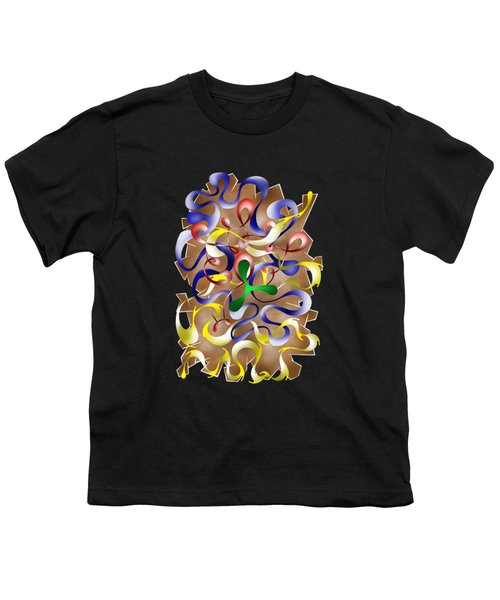 Abstract Digital Art - Jamurina V2 Youth T-Shirt by Cersatti