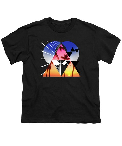 Abstract Space 5 Youth T-Shirt by Russell K