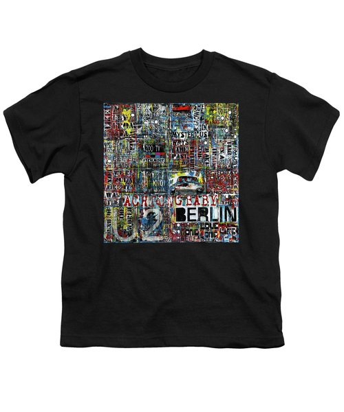 Achtung Baby Youth T-Shirt by Frank Van Meurs