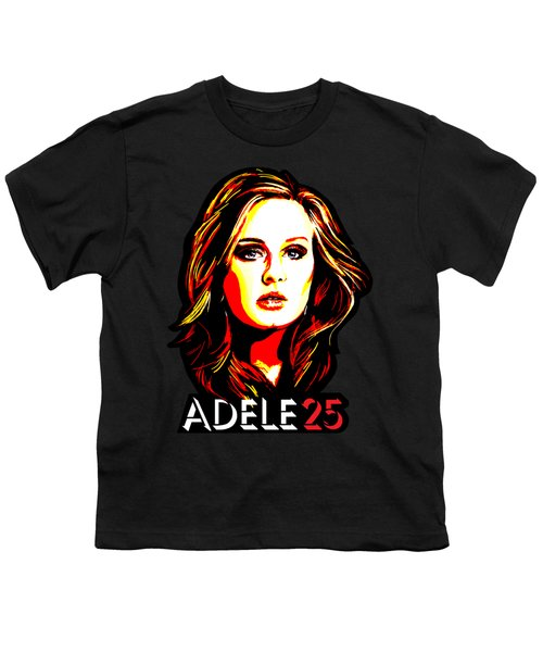 Adele 25-1 Youth T-Shirt by Tim Gilliland