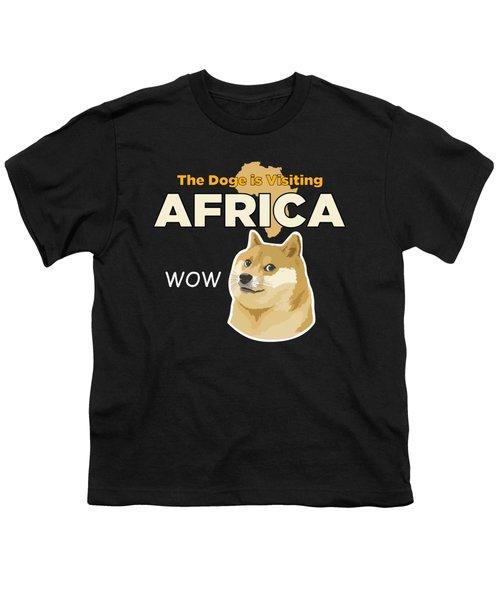 Africa Doge Youth T-Shirt by Michael Jordan