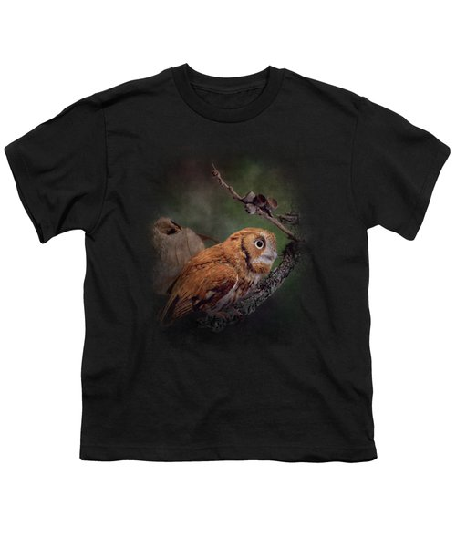 After The Acorns Fall Youth T-Shirt by Jai Johnson
