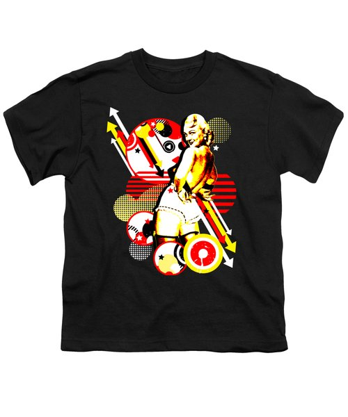 Striptease Youth T-Shirt by Chris Andruskiewicz