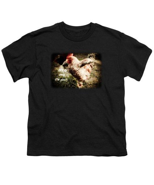 I'll Fly Away  Youth T-Shirt by Anita Faye