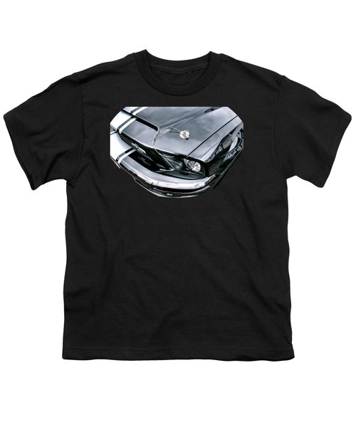 Shelby Super Snake At The Ace Cafe London Youth T-Shirt by Gill Billington