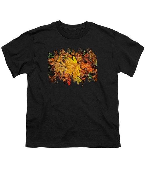 Autumn Leaves Of Beaver Creek Youth T-Shirt by Thom Zehrfeld