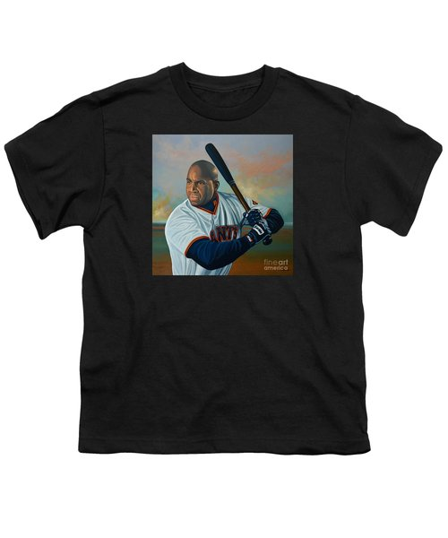 Barry Bonds Youth T-Shirt by Paul Meijering