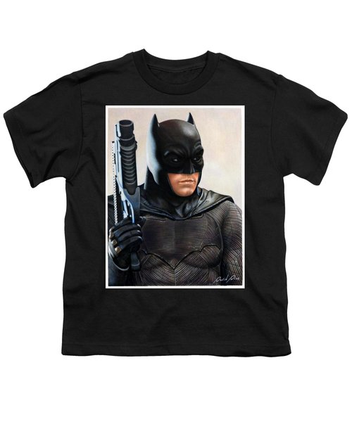 Batman 2 Youth T-Shirt by David Dias