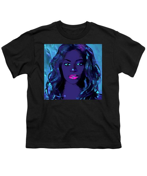 Beyonce Graphic Abstract Youth T-Shirt by Dan Sproul