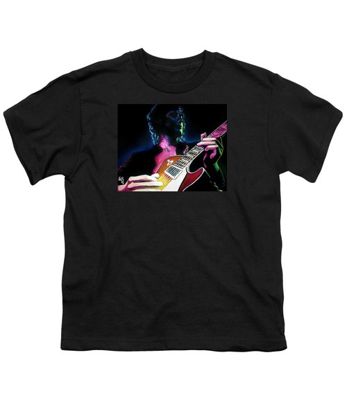 Black Dog Youth T-Shirt by Tom Carlton