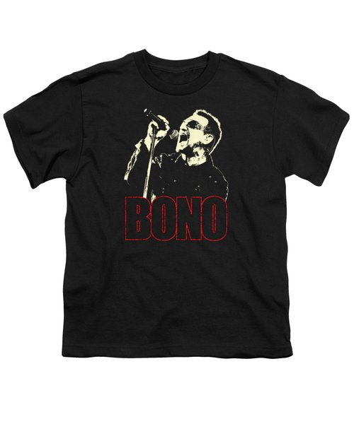 Bono Tour 2016 Youth T-Shirt by Gandi Rismawan