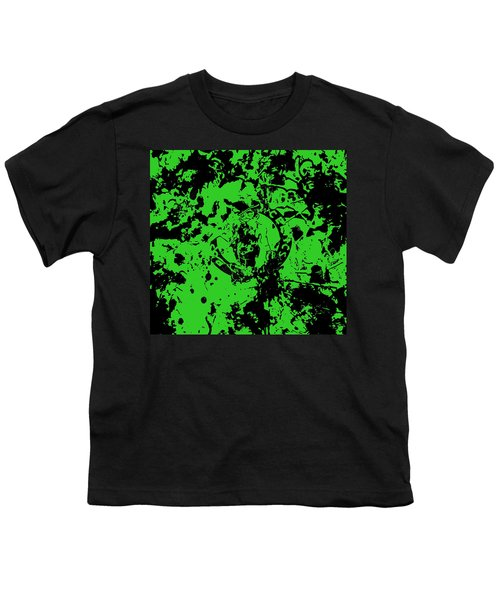 Boston Celtics 1a Youth T-Shirt by Brian Reaves