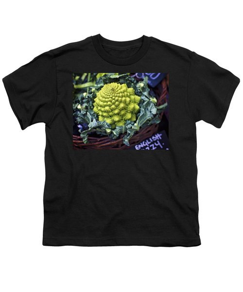 Brassica Oleracea Youth T-Shirt by Heather Applegate