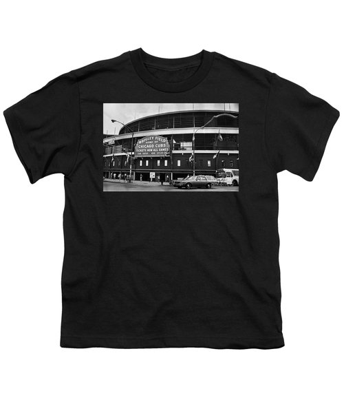 Chicago: Wrigley Field Youth T-Shirt by Granger