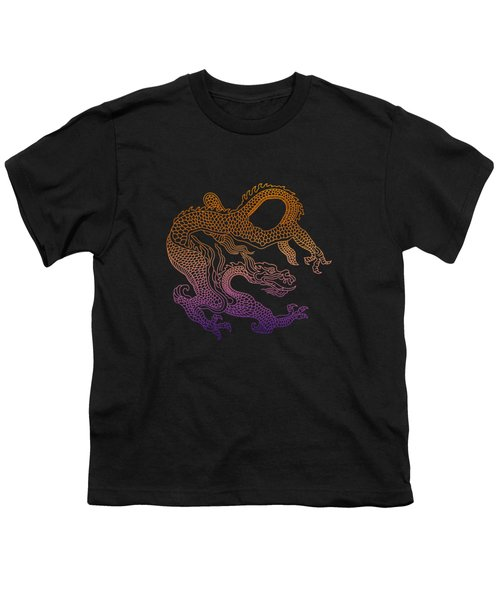 Chinese Dragon Youth T-Shirt by Illustratorial Pulse