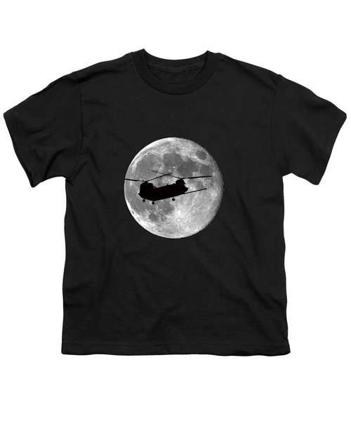 Chinook Moon .png Youth T-Shirt by Al Powell Photography USA