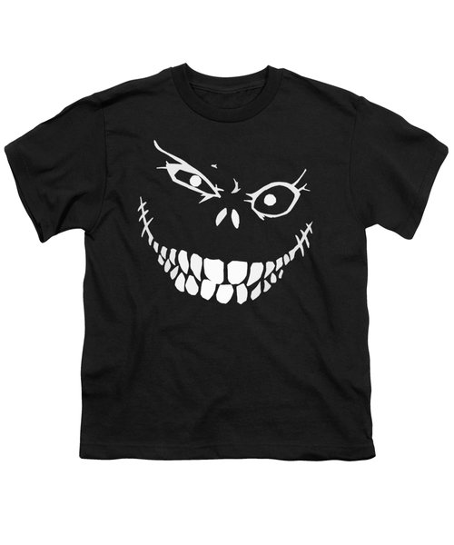 Crazy Monster Grin Youth T-Shirt by Nicklas Gustafsson