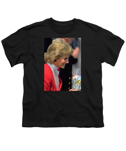 Youth T-Shirt featuring the photograph Diana Princess Of Wales by Travel Pics