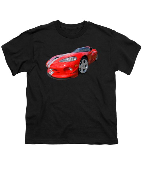 Dodge Viper Gts Youth T-Shirt by Gill Billington