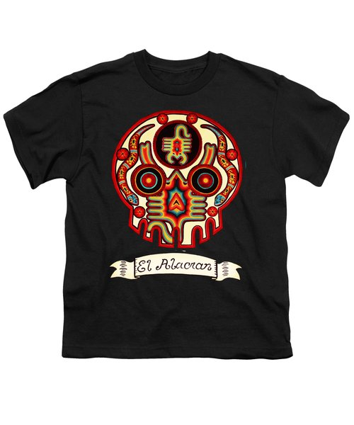 El Alacran - The Scorpion Youth T-Shirt by Mix Luera