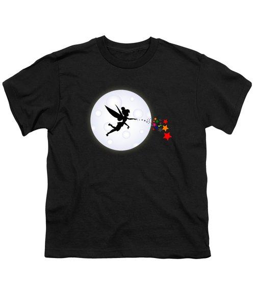 Elf Starry Night Youth T-Shirt by Koko Priyanto