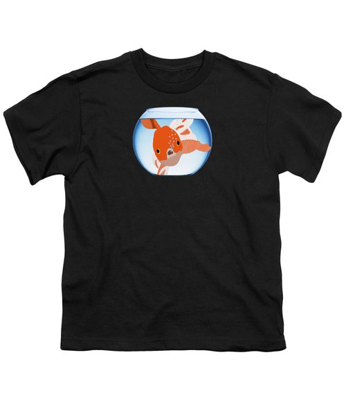 Fishbowl Youth T-Shirt by Priscilla Wolfe