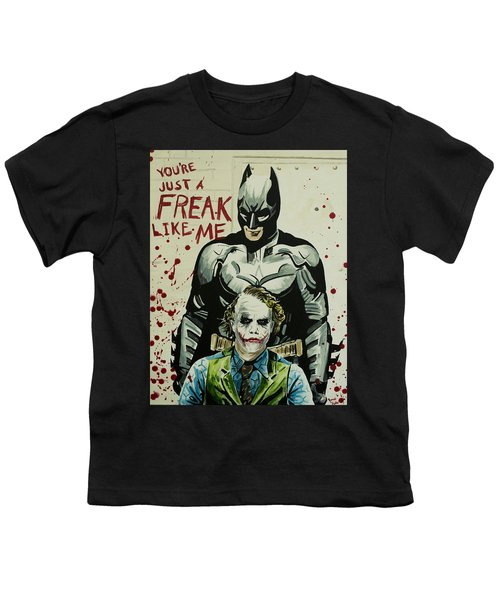 Freak Like Me Youth T-Shirt by James Holko