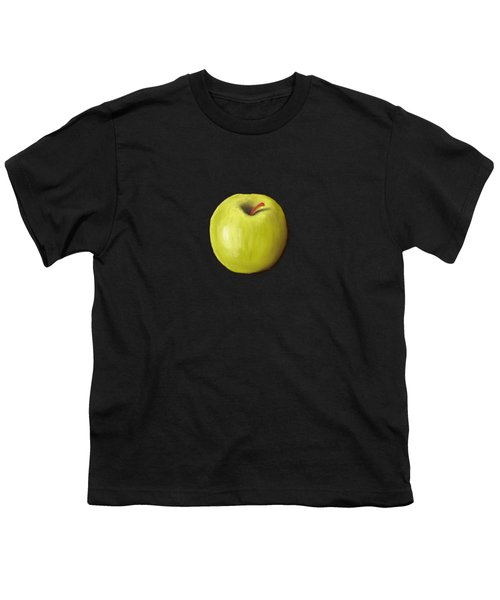 Granny Smith Apple Youth T-Shirt by Anastasiya Malakhova
