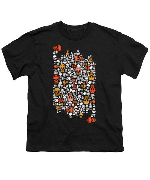 Halloween Youth T-Shirt by Mark Ashkenazi