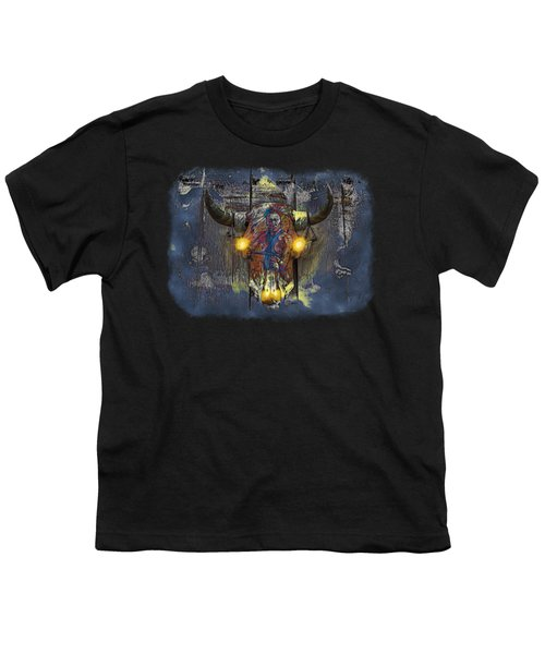 Halloween Shirt And Accessories Youth T-Shirt by John M Bailey