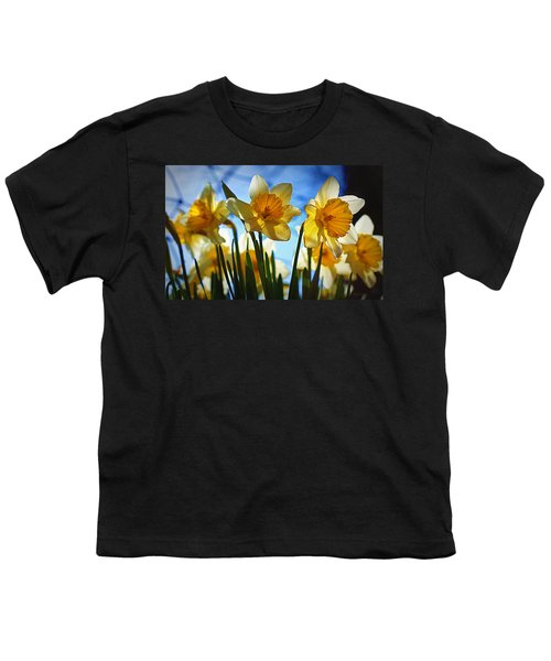 Hello Spring Youth T-Shirt by Cricket Hackmann