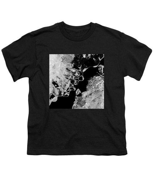 Ice Face Youth T-Shirt by Konstantin Sevostyanov