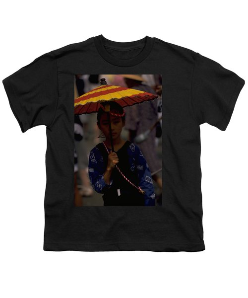 Youth T-Shirt featuring the photograph Japanese Girl by Travel Pics
