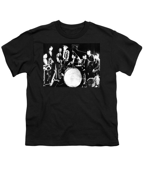 Jazz Musicians, C1925 Youth T-Shirt by Granger
