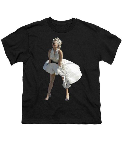 Key West Marilyn - Special Edition Youth T-Shirt by Bob Slitzan