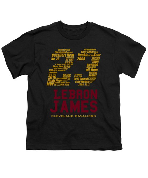 Lebron 23 Youth T-Shirt by Augen Baratbate