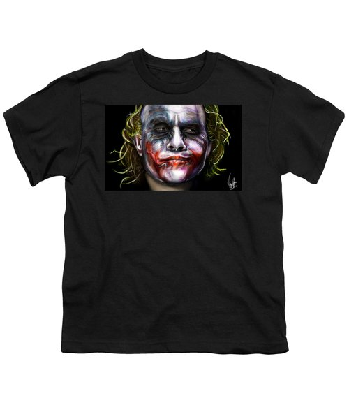 Let's Put A Smile On That Face Youth T-Shirt by Vinny John Usuriello