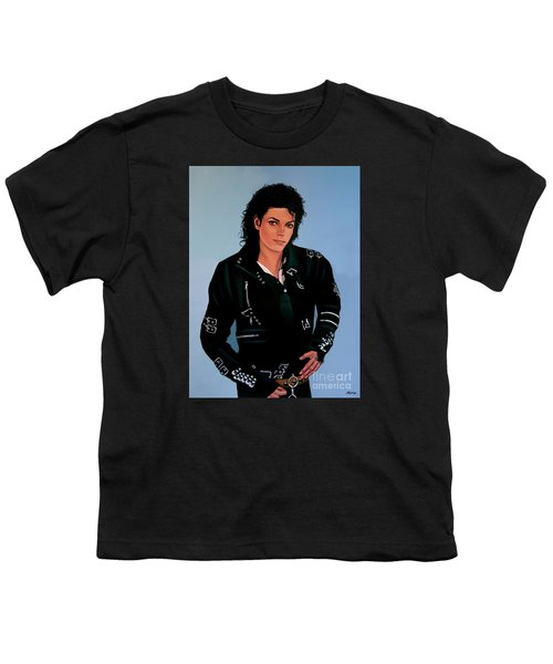 Michael Jackson Bad Youth T-Shirt by Paul Meijering