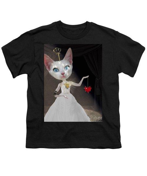 Miss Kitty Youth T-Shirt by Juli Scalzi