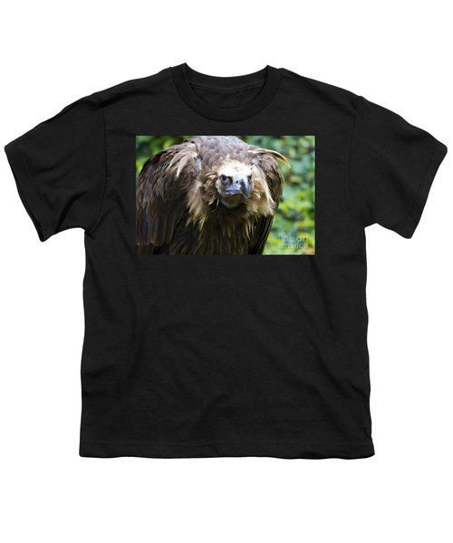 Monk Vulture 3 Youth T-Shirt by Heiko Koehrer-Wagner