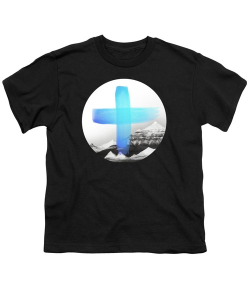 Mountains Youth T-Shirt by Amy Hamilton