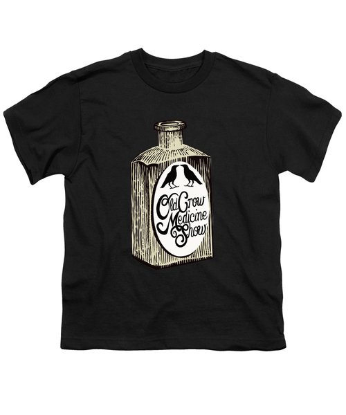 Old Crow Medicine Show Tonic Youth T-Shirt by Little Bunny Sunshine