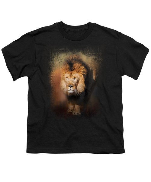 On The Hunt Youth T-Shirt by Jai Johnson